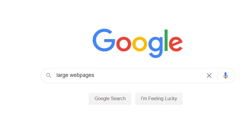 large-webpages-google-search