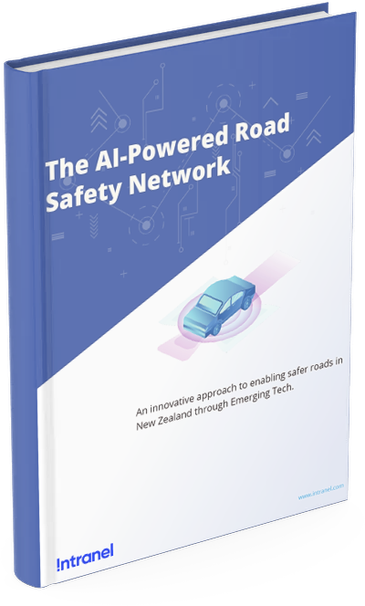"""Cover of the ebook """"The AI-Powered Road Safety Network"""""""